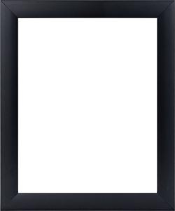 กรอบรูปสวยๆสีดำ ลายเรีบบ ทรงเหลี่ยม
