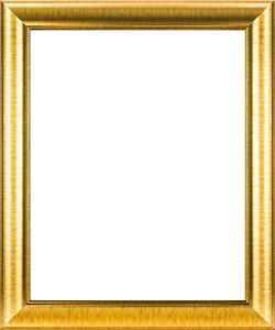กรอบรูปสีทอง ขอบโค้ง สโลป
