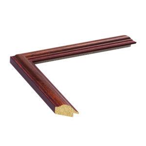 กรอบรูปลายไม้และสีทอง