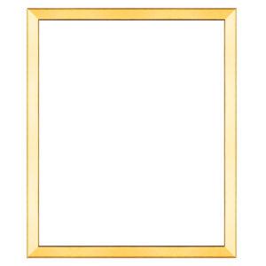 กรอบรูปขอบเอียง สีทอง