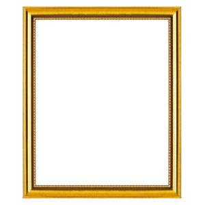 กรอบรูปสีทอง สีไม้