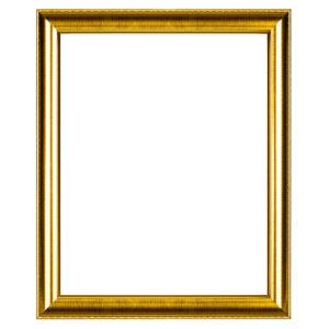 กรอบรูปสีทอง สีเงิน ลายไม้ (ทอง)
