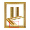 Beautiful gold pattern frame 2102_MAT