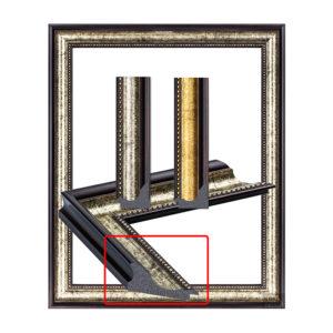 Frame, curved edge, high edge 2010-1