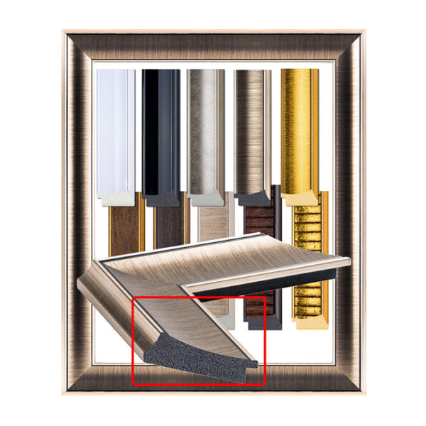 Golden luxury picture frame 553 M-1