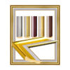 UJ 152 Photo Frame with Curved Pattern-1