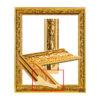 UJ 231 Louis gold frame, beautiful pattern-1