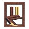 UJ 2402 transverse wood picture frame-1