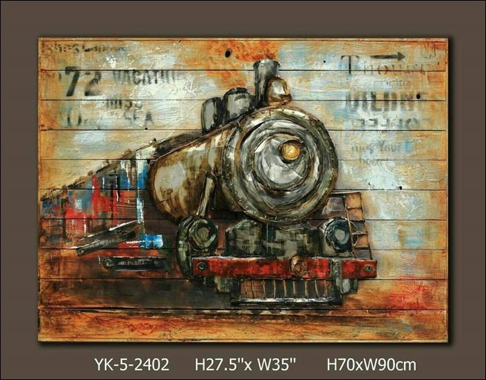 ภาพวาดรถไฟ
