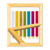 กรอบรูปสีสวย ( 7 หุน)